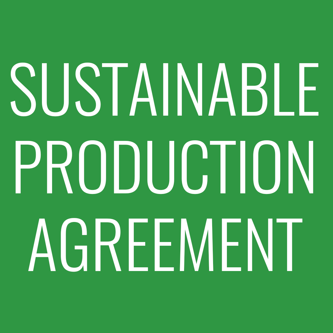sustainable production agreement