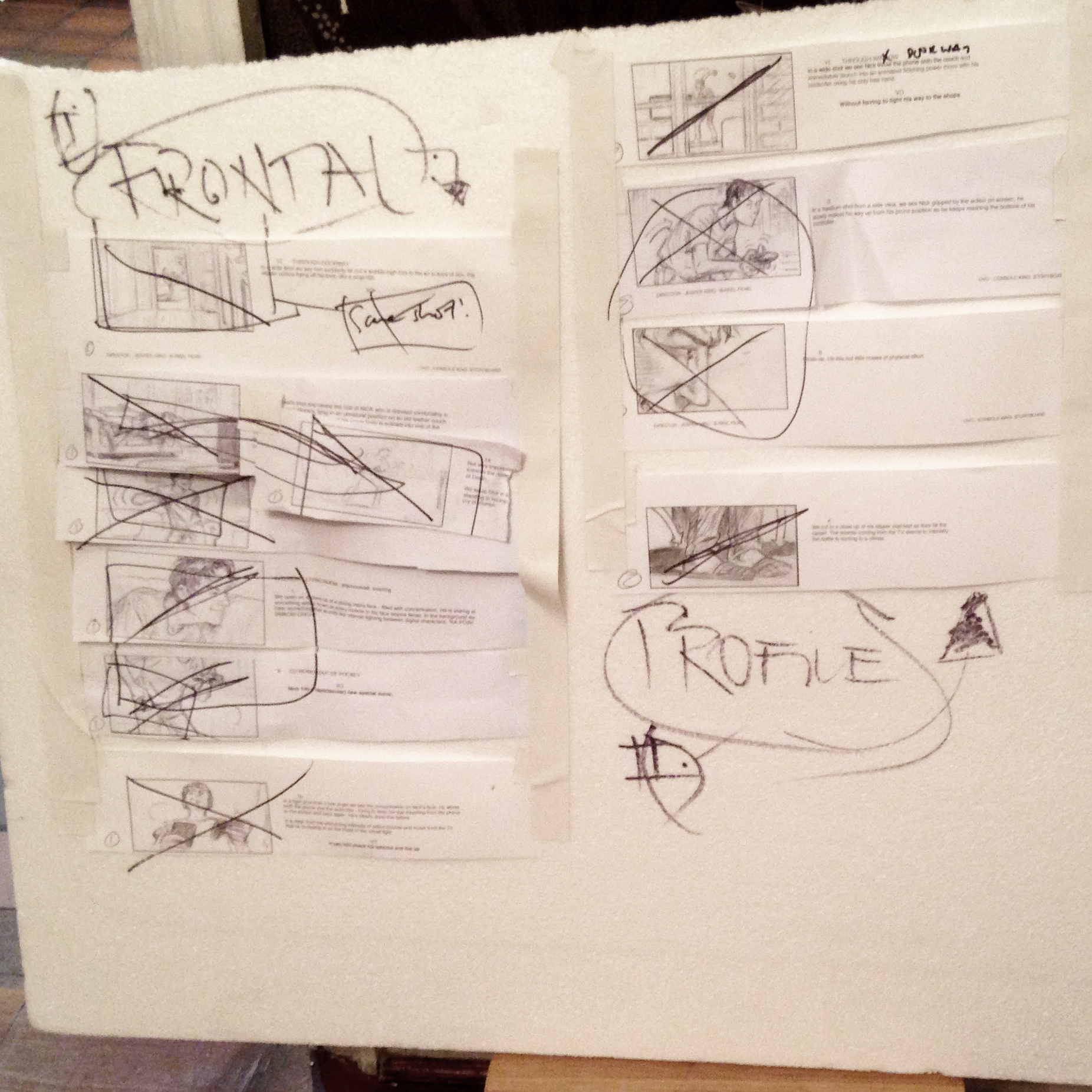 Poly used for displaying storyboards