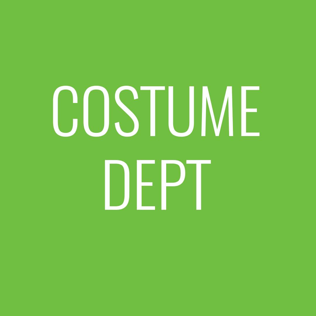Costume dept