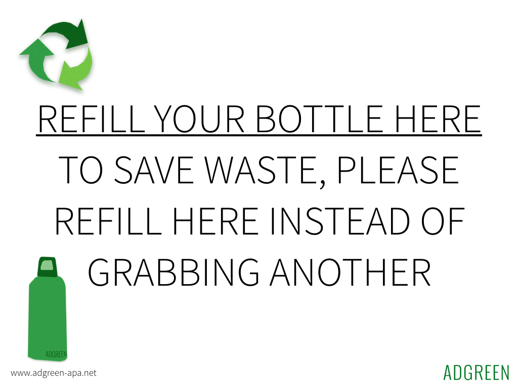 Refill your bottle here