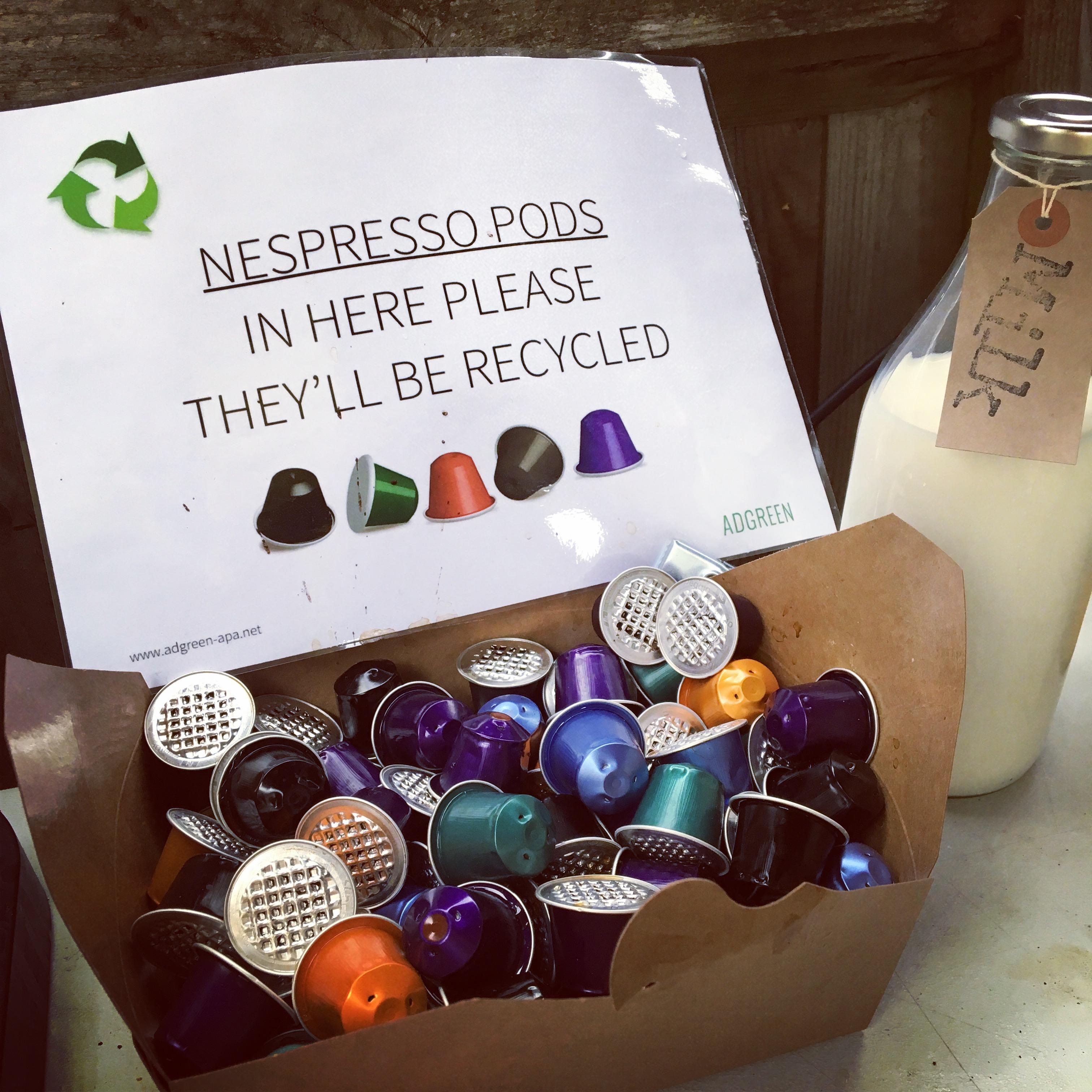 Nespresso recycling