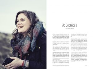 Jo in this month's Pitch Fanzine